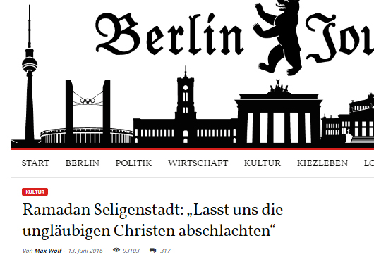 berliner journal 1 titel